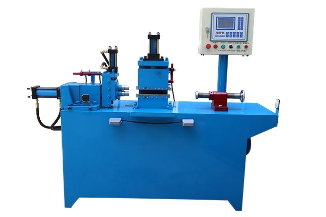 中山液压二工位缩管机